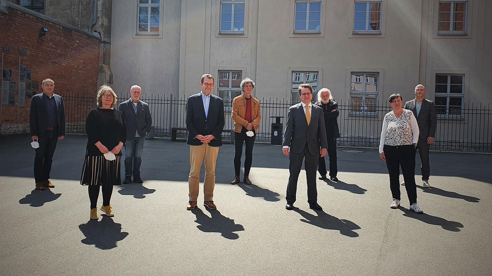 1. Beiratssitzung als Hybridveranstaltung - Beiratssitzung Stiftung-Ettersberg