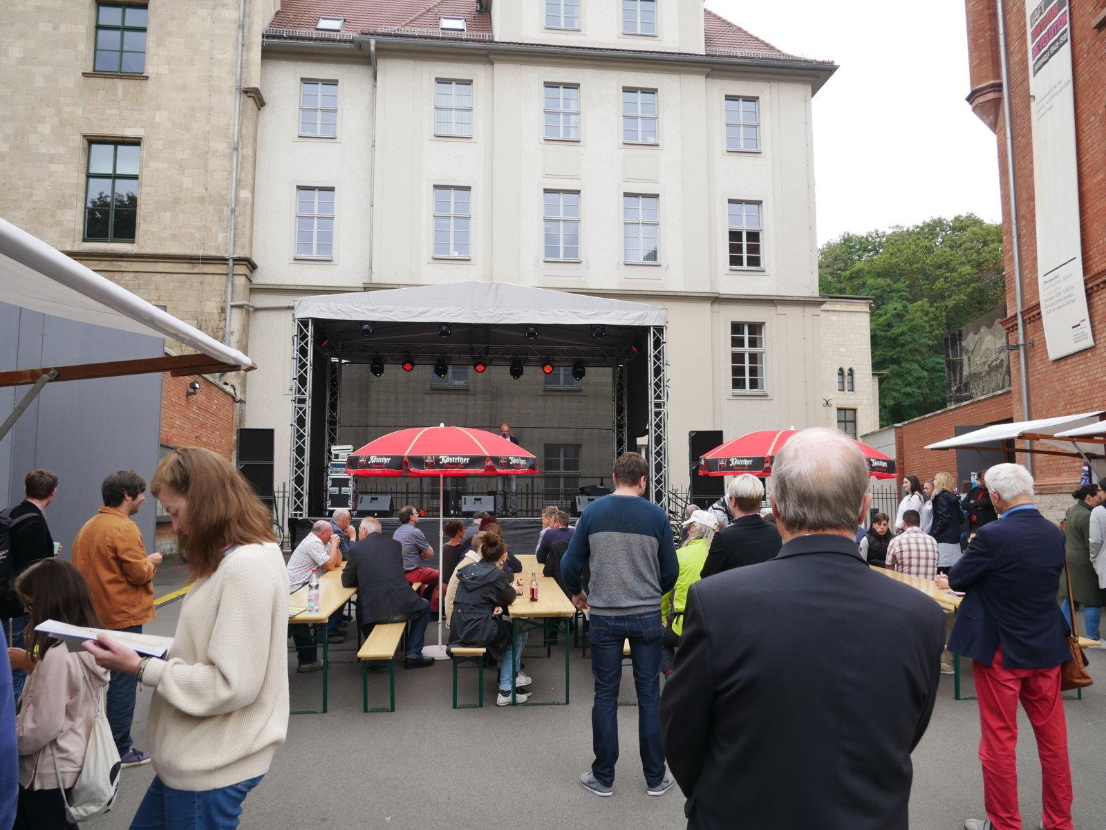 Bürgerfest - Buergerfest Förderverein Gedenkstätte Andreasstraße