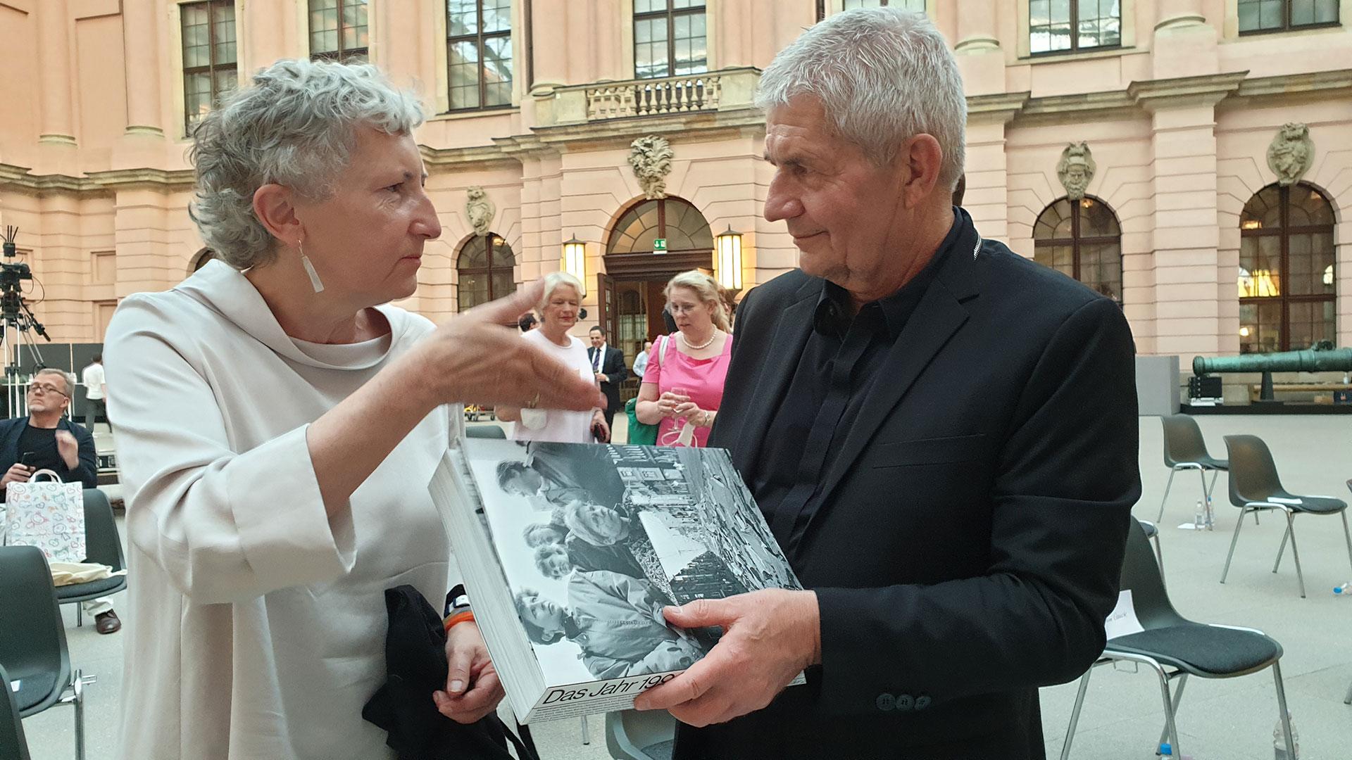 Transformation des Stasi-Unterlagen-Archivs - Festakt zur Transformation des Stasiunterlagen Archivs am 17. Juni 2021 in Berlin